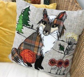 Mr Fox Cushion Kit