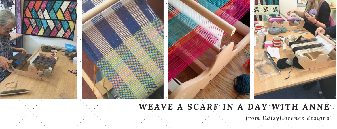 Weave a scarf in West Yorkshire