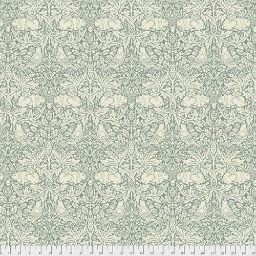 Free spirit - Standen by Morris & Co 026 Brier Rabbit Teal