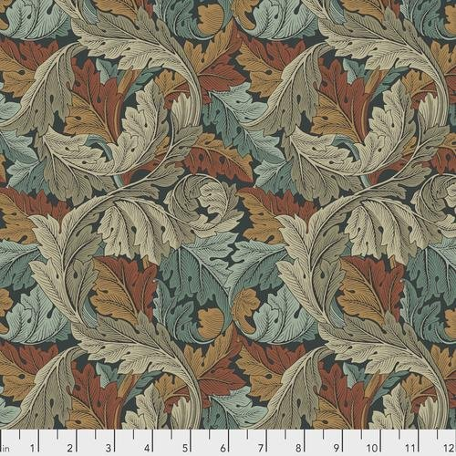Free spirit - Standen by Morris & Co 027 Acanthus Autumn