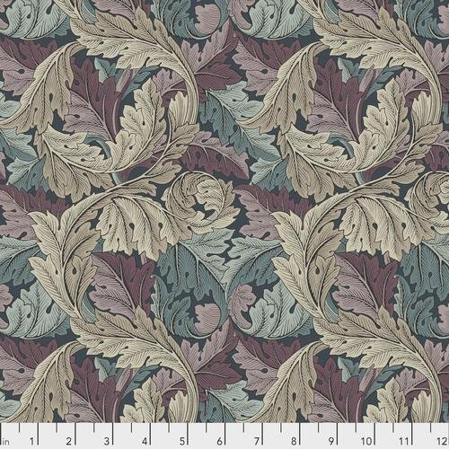 Free spirit - Standen by Morris & Co 027 Acanthus Dusk