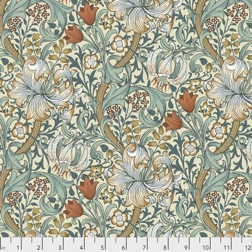 Free spirit - Standen by Morris & Co 028 Golden Lily Autumn