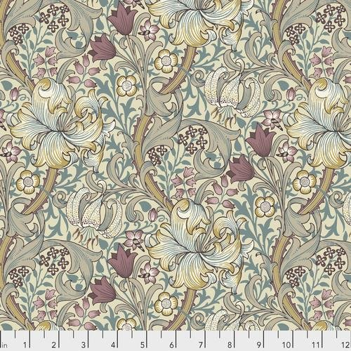 Free spirit - Standen by Morris & Co 028 Golden Lily Dusk