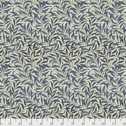 Free spirit - Standen by Morris & Co 030 Willow Boughs Navy