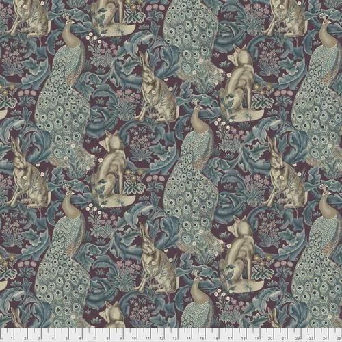 Free spirit - Standen by Morris & Co 031 Forest Plum