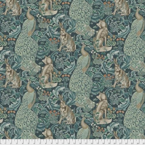 Free spirit - Standen by Morris & Co 031 Forest Teal