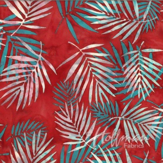 Hoffman Batik  Q2104-5 Red