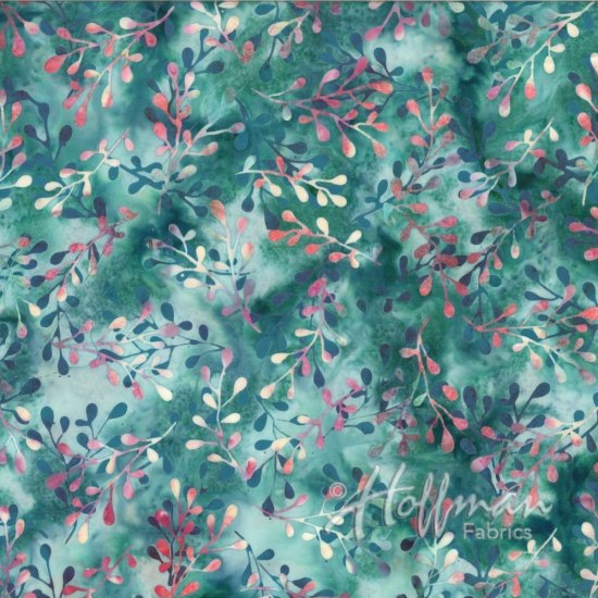 Hoffman Batik  Q2110-418 Chamomile