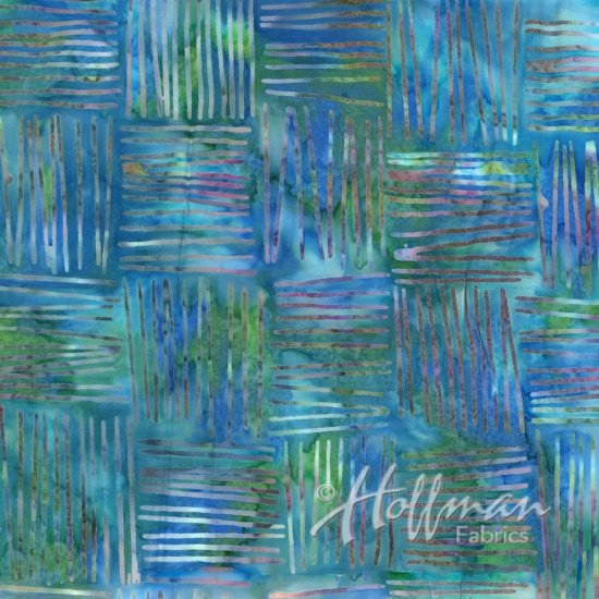 Hoffman Batik  Q2121-271 Parakeet