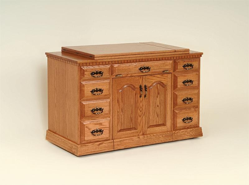 Maple Double Drawer Airlift w/Special Top