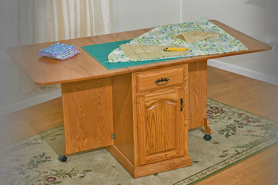 Large Crafting Table w Trim