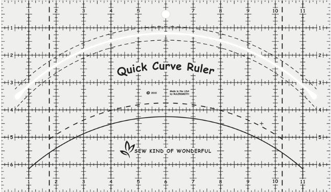 Quick Curve Ruler (QCR)