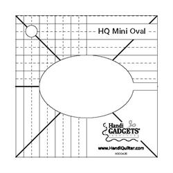 HQ Mini Oval Template
