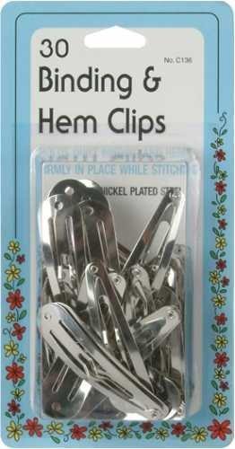 Binding & Hem Clips