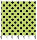 Broomhilda's Brakery - Dots Lime/Black