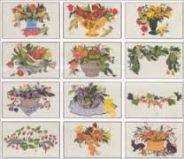 Card 107 - Celebration of Fruit and Flowers (d-card) by Ingrid Larsson Haglund- Husqvarna (Rack 1 Shelf 1)