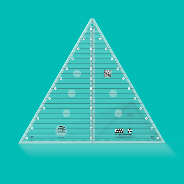 60 Degree Triangle 12 Finished Size