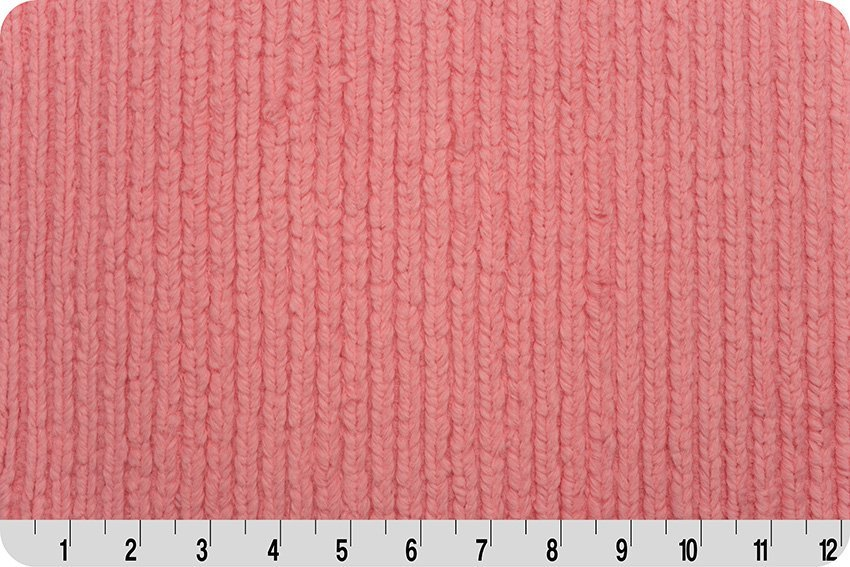 Chenille Luxe Cuddle Coral