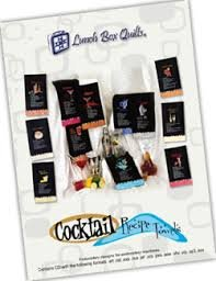 Cocktail Recipe Towel Collection