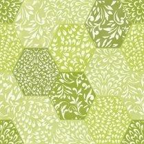 Hexagons Green