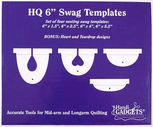 HQ 6 Swag Templates / Set of 4