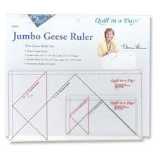 Quilt in a Day Jumbo Flying Geese Ruler Set