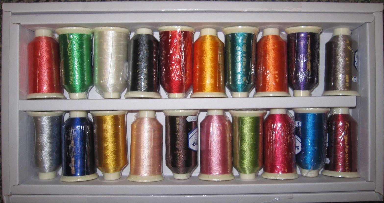 Starter Kit Rayon Thread #13