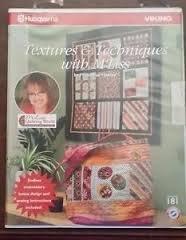 Card 181 - Textures & Techniques (CD) with M'Liss - Husqvarna (Rack 1 Shelf 1)