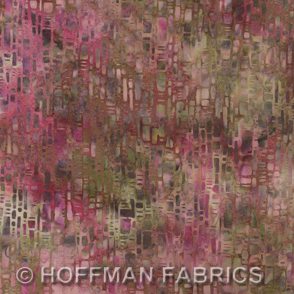 Hoffman Batik Carnation