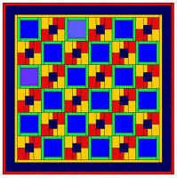 Alternating 4 patch