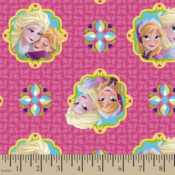 Frozen Anna and Elsa Framed 53516