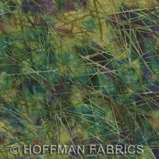 Hoffman Batik Fern