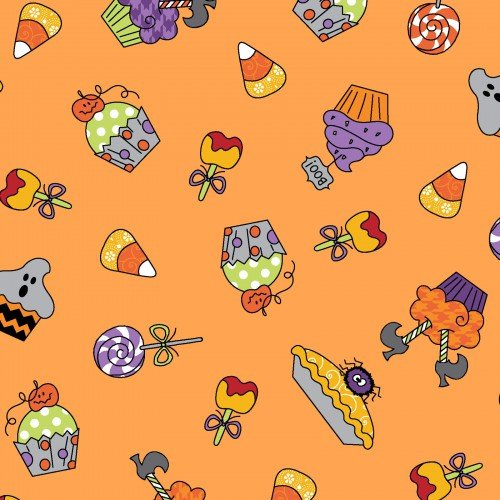 Broomhilda's Bakery Cupcakes on Orange