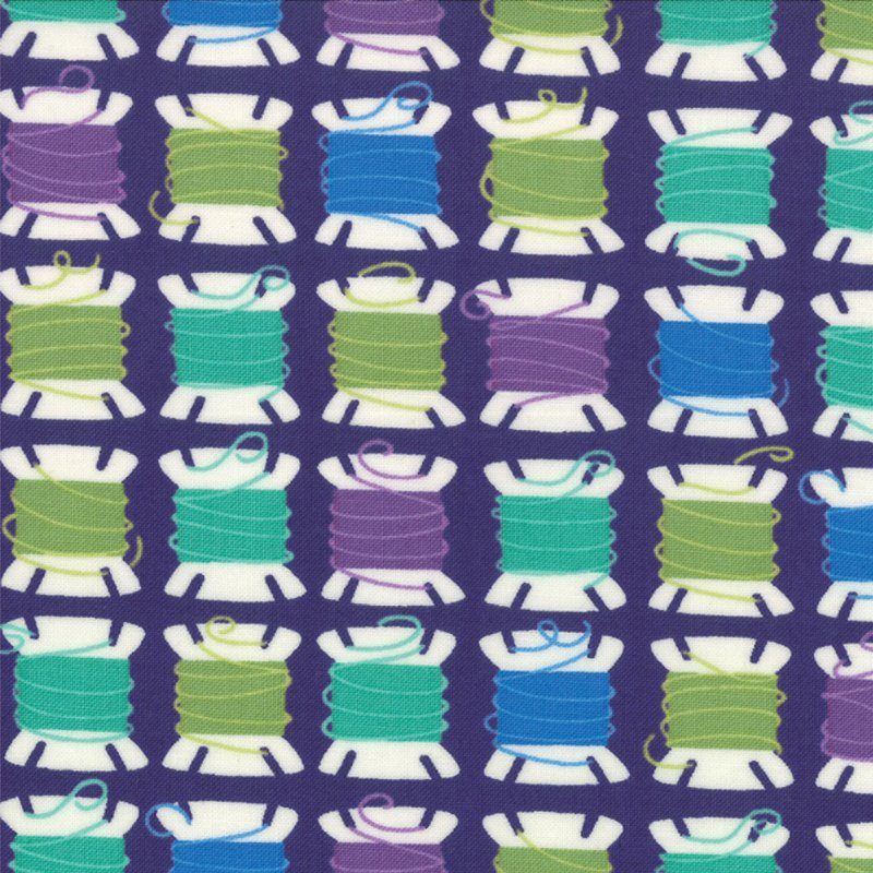 Sewing Box Threads Purple