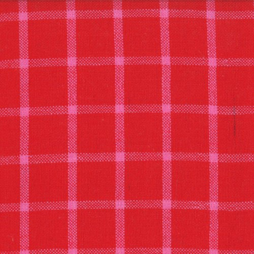 Wee Bright Plaid Red