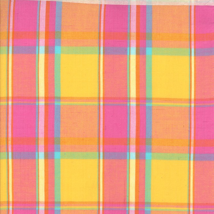 Wee Bright Plaid Pink