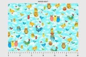 Moos & Hoos Blue w/owls