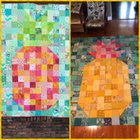 Pixilated Pineapple
