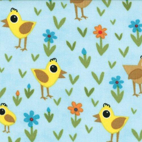 Oink A Doodle Moo Birds Sky