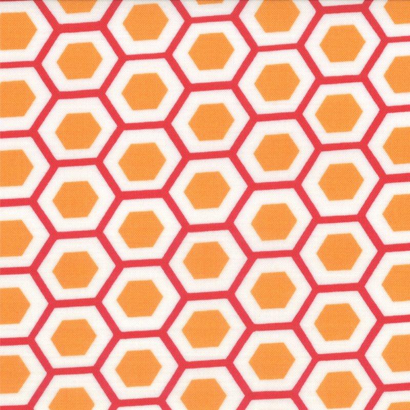 Mixed Bag Hexy Orange