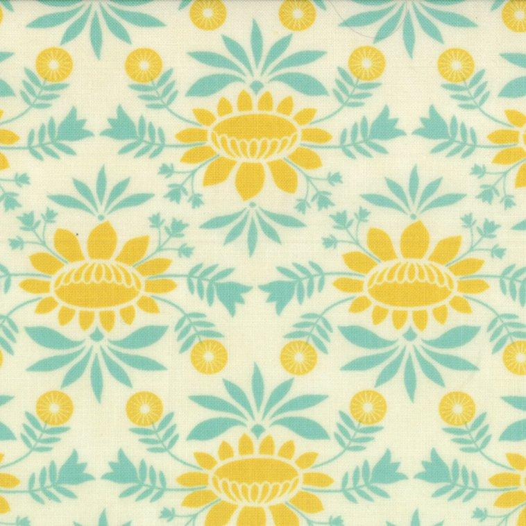 Baby Jane Aqua Mustard