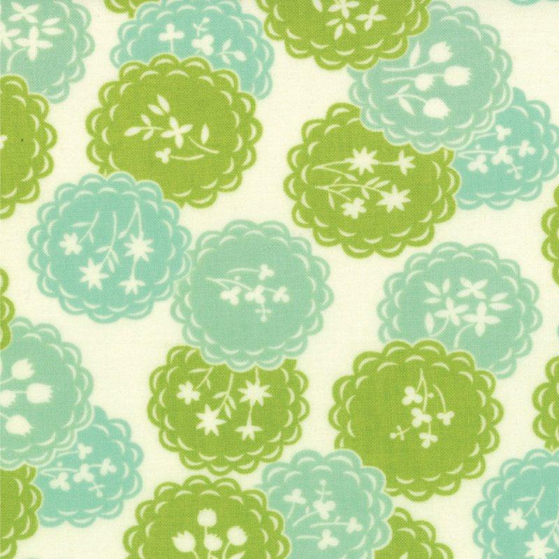 Scrumptious Dainty Aqua Lime
