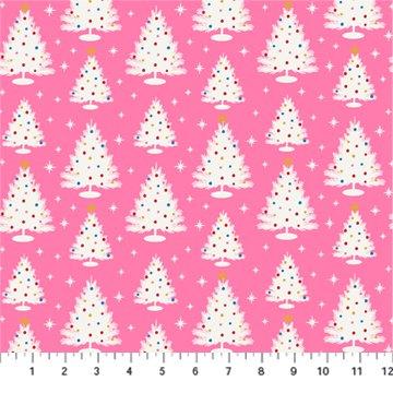 FIGO Peppermint Trees Pink