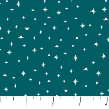 FIGO Peppermint Stars Teal