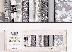 Color  Master Clean Slate Edition Fat Quarter Box- Art Gallery Fabrics