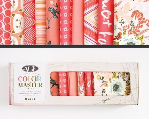 Color Master Coraline Edition Fat Quarter Box- Art Gallery Fabrics