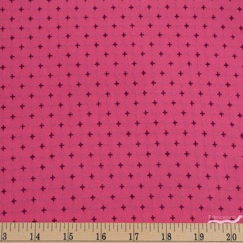 Diamond Textiles Manchester Yarn Dyed Woven Pink/Plum