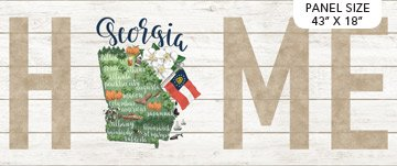 My Home State Georgia Panel