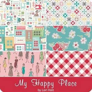 Lori Holt's My Happy Place Home Dec - 1yd bundle