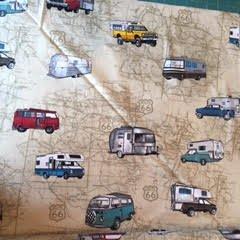 Vintage Campers Route 66 Tan